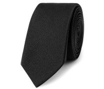 Silk Tie - Black