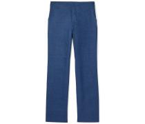 Linen Trousers - Blue