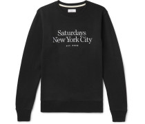 Bowery Miller Logo-embroidered Loopback Cotton-jersey Sweatshirt