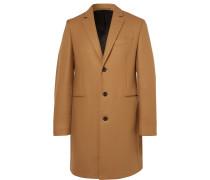 Wool-blend Overcoat - Camel