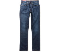 Max Slim-fit Stretch-denim Jeans - Navy