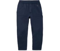 Slim-fit Tapered Nikelab Essentials Stretch Cotton-jersey Sweatpants