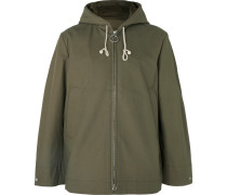 Melt Cotton-canvas Hooded Parka