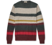 Striped Wool-blend Sweater - Multi