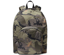 Camouflage-print Shell Backpack