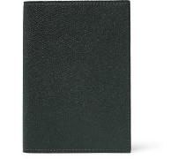Pebble-Grain Leather Passport Cover