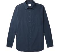 Cotton-Poplin Overshirt