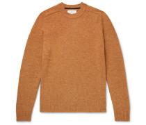 Mélange Shetland Wool Sweater