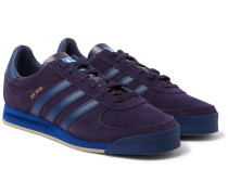 Spezial As 520 Leather-trimmed Suede Sneakers - Purple