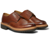 Curt Hand-Painted Leather Derby Shoes