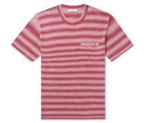 Striped Knitted Linen T-Shirt