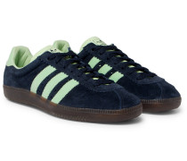 Padiham Spezial Leather-trimmed Suede Sneakers