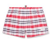 Checked Cotton Oxford Boxer Shorts
