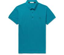 Cotton-piqué Polo Shirt - Teal