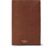 Full-grain Leather Passport Cover - Brown