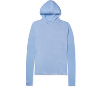 Cotton And Cashmere-blend Hoodie