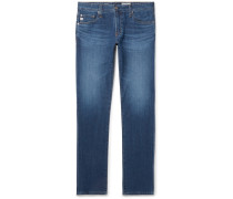 Tellis Slim-fit Stretch-denim Jeans - Blue