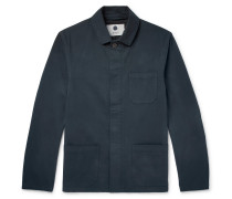 Oscar Stretch-cotton Twill Jacket