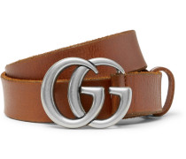 3cm Tan Leather Belt