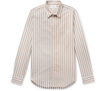 Striped Cotton Oxford Shirt