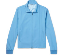 Virgin Wool-blend Track Jacket