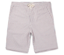 Striped Cotton Pyjama Shorts