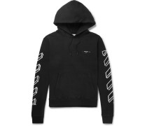 Oversized Logo-print Loopback Cotton-jersey Hoodie