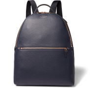 Burlington Full-grain Leather Backpack
