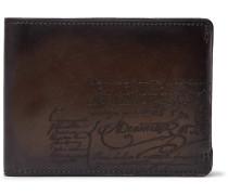 Essentiel Scritto Leather Billfold Wallet - Brown