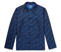 Satin-jacquard Jacket