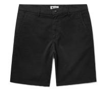 Crown Stretch-Cotton Shorts
