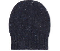 Donegal Wool And Cashmere-blend Beanie