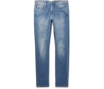 L'homme Slim-fit Stretch-denim Jeans - Blue