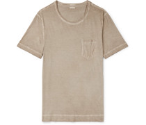 Panarea Garment-dyed Cotton-jersey T-shirt