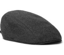Wool-flannel Flat Cap