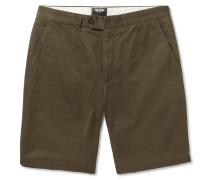 Hudson Cotton-twill Shorts