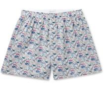 + Liberty London Printed Cotton Boxer Shorts