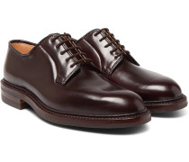 Archie Cordovan Leather Derby Shoes