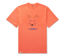 + ADER error Oversized Printed Cotton-Jersey T-Shirt