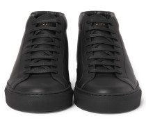 Urban Street Leather High-top Sneakers