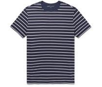 Alfie Striped Stretch-Micro Modal Jersey T-Shirt