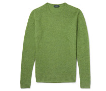 Brushed Virgin Wool Sweater