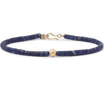 Gold And Lapis Bracelet - Blue