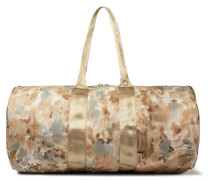 H-446 Camouflage-print Tuff Stuff Holdall - Green