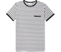 Dweller Striped Cotton-jersey T-shirt