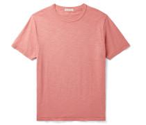 Standard Slim-Fit Slub Mélange Cotton-Jersey T-Shirt