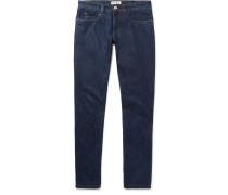 Skinny-fit Stretch-denim Jeans - Dark denim