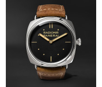 Radiomir S.l.c. 3 Days Acciaio 47mm Steel And Leather Watch