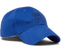 Logo-embroidered Cotton Baseball Cap - Blue