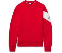 Chevron Loopback Cotton-jersey Sweater